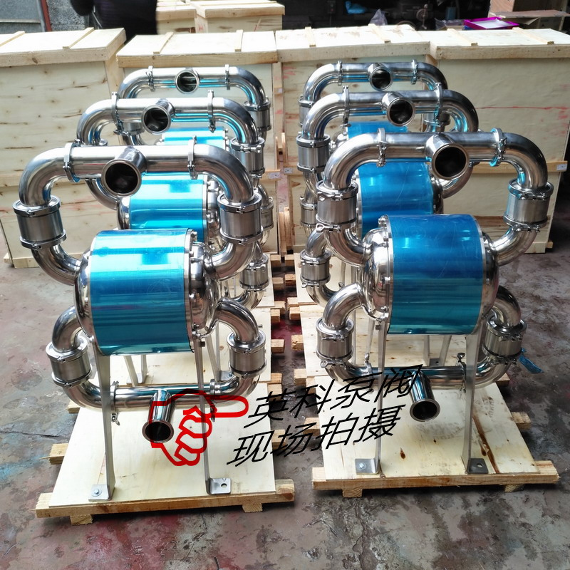 北京卫生级气动隔膜泵天津食品级气动双隔膜泵价格