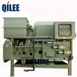 QTB-500 电镀废水滚筒转鼓式浓浆污泥脱水机