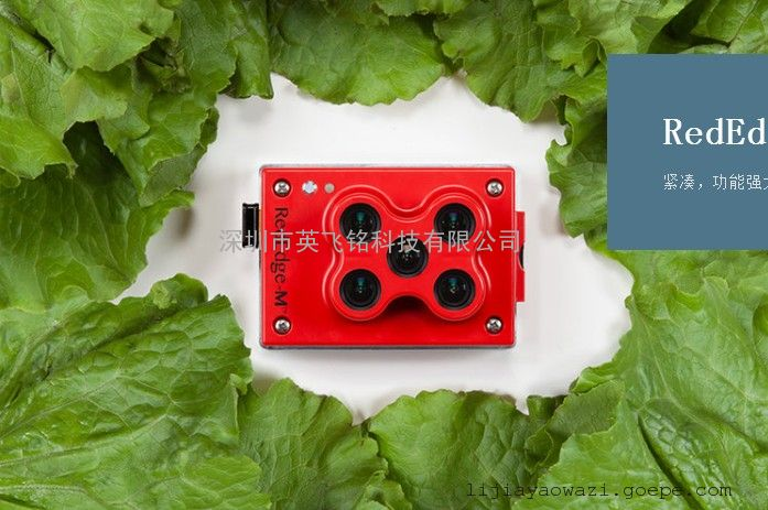 红、绿、蓝、近红外、红边五光谱相机Rededge-M
