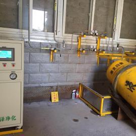 退火炉、热处理专用氨气净化装置国内独家生产经营、专利产品