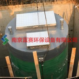 南京一体化泵站 南京玻璃钢泵站 免费指导安装 厂家直销