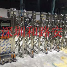 龙华不锈钢电动门,龙华双轨电动门价格,龙华电动伸缩门厂家