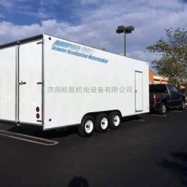 AMPAC美国进口日产100-300吨移动拖车式海水淡化设备