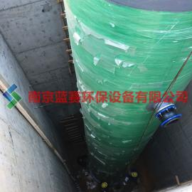 污水提升器 一体化污水提升设备 玻璃钢预制泵站 粉碎型格栅