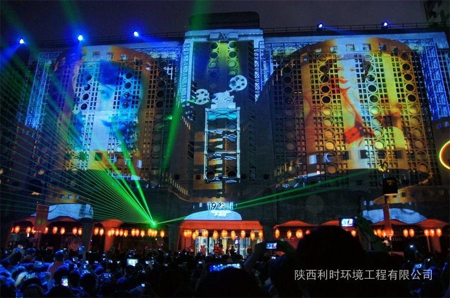建筑投影灯光秀设计图片