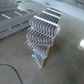 河池万诚玻璃钢湿法脱硫除雾器 屋脊型脱硫除雾器 除雾效率高