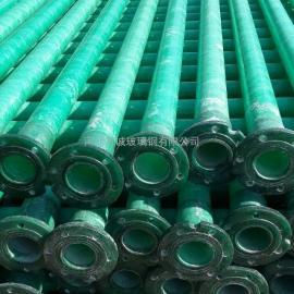 崇左万诚农田灌溉玻璃钢井管 水利工程扬程管 潜水泵井管