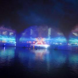 水幕电影 水景设计 激光水幕电影 水景施工 喷泉公司