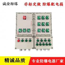 10A防爆按钮开关箱 远程控制箱
