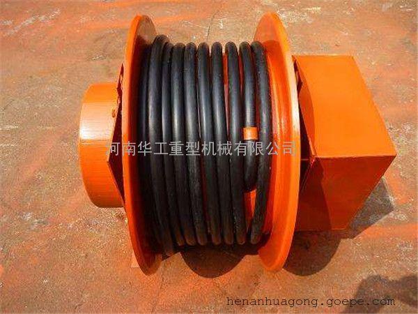 发条式自动卷取电缆卷筒 JTA型卷取100米截面16平方抓斗卷线盘