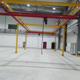 厂家直销轻型起重刚性轨道 kbk轨道厂房流水线工位吊首选