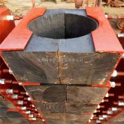 高密度聚氨酯保冷管托 高压减振管托 聚四氟乙烯垫板
