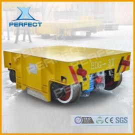 40T钢包车重载型蓄电池电动平车大吨位电动平板车