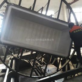 丽水K1800L方形周转桶布草车推布车纺织桶750高度新款