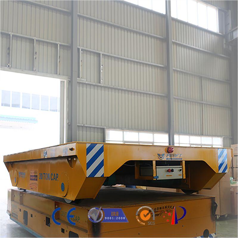 过跨台车30T大型发电机组搬运电动轨道车江西湖南专用