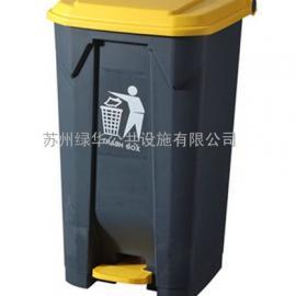 苏州45L垃圾桶-45升塑料垃圾桶-45升塑料脚踩垃圾桶厂家