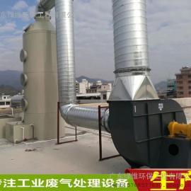 惠州酸碱有机废气处理PP喷淋塔洗涤塔支持安装定制