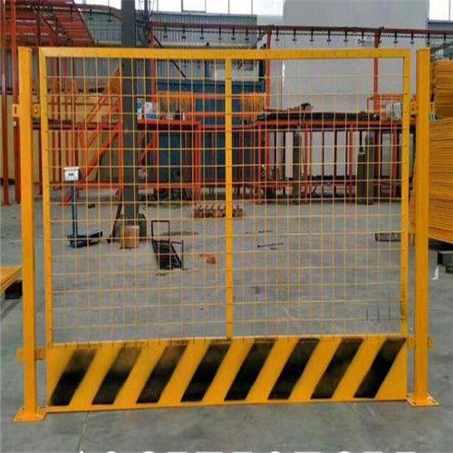 长沙建筑工地基坑临边防护栏杆高度和设施