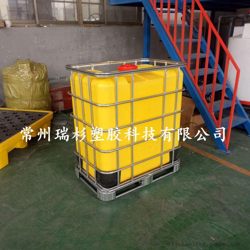 无锡 500L滚塑一次成型IBC集装桶 生产厂家
