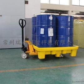 无锡 化学品防渗漏4桶托盘生产厂家