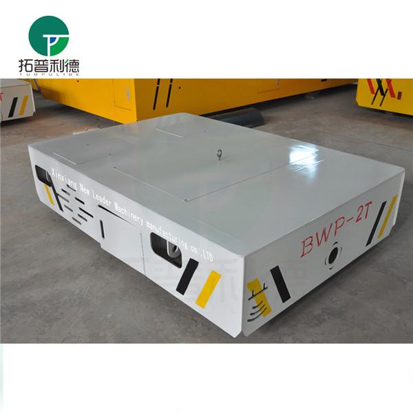 河南濮阳 5T胶轮无轨平车 钢结构模具设备转运输电动平车