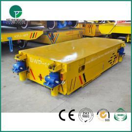 10t锂电池无轨道遥控转弯电动平板车 大吨位搬运铝卷无轨平车