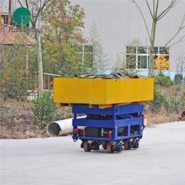 喷砂房专用BWP转运轨道平车 电动手推车操作灵活的电动平板车