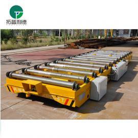 生产好好厂过跨地平车 备件支架旋转锻件机动道床大板车