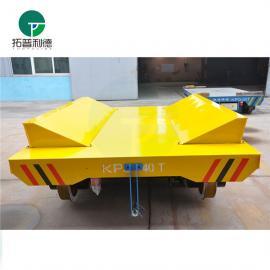 新利德机械转运输钢卷铝卷等卷材的卷材车轨道平车