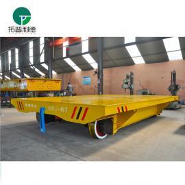 新利德机械转运输热带轧钢工件设备的电缆卷筒轨道车