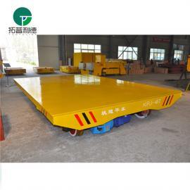 大型零配件搬运电动平板车 新利德机械10吨电动过跨车定制