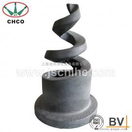 碳化硅螺旋喷头 螺旋喷嘴 耐高温 防腐蚀 脱硫除尘 厂家批发