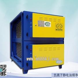 供应高效低耗 负离子静电油烟净化设备 厨房油烟净化器哪里卖