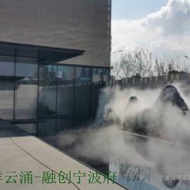 嘉兴喷雾降温设备-户外喷雾降温价格-喷雾景观工程