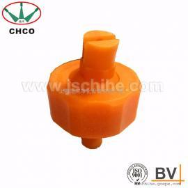 塑料球形万向锥形扇形喷嘴喷头雾化可调冷却加湿工业喷淋