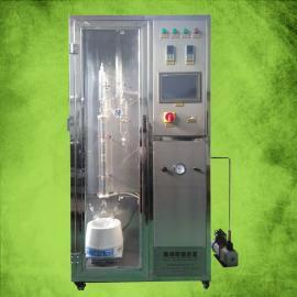精馏装置精馏塔设备常压高压精馏塔设备玻璃不锈钢实验精馏装置