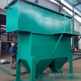 某食品厂姜蒜加工污水处理设备、高效斜管沉淀池(沉淀器)