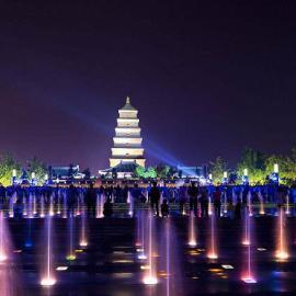 河道大型音乐喷泉设计公司河道大型音乐喷泉施工公司