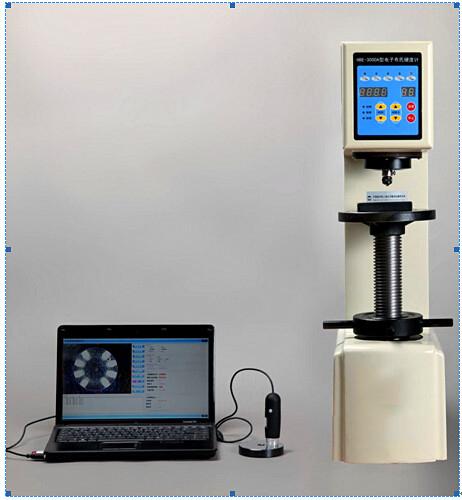 图像电子布氏HBE-3000S布氏硬度计