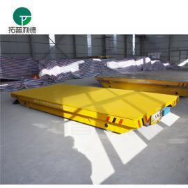 吹膜机模具转运地轨平板车制作标准 23t电动轨道平车生产图纸