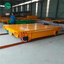 实力生产对轨道要求不高 可加装液压装置 KPT系列轨道平车