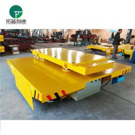 新利德机械供应转运输建筑设备物料的轨道电动平板车