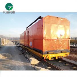 新利德生产制造转弯环形路线的搬运设备轨道电动平车