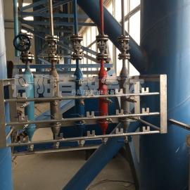 焊接车间氧气乙炔丙烷对应集中供气布置