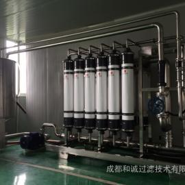 和诚过滤供应 罗汉果汁澄清除杂 膜过滤设备
