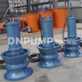 天津 泵站重建大流量600QZB潜水轴流泵