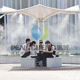 公园喷雾降温设备