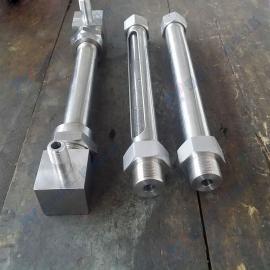 厂家定制直通式小型玻璃管液位计 水箱专用玻璃管水位计 油位计