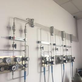 实验室钢瓶集中供气装置设计安装