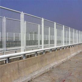 桥梁防抛网工厂|铁路桥梁防落物网|@百瑞防坠网工厂